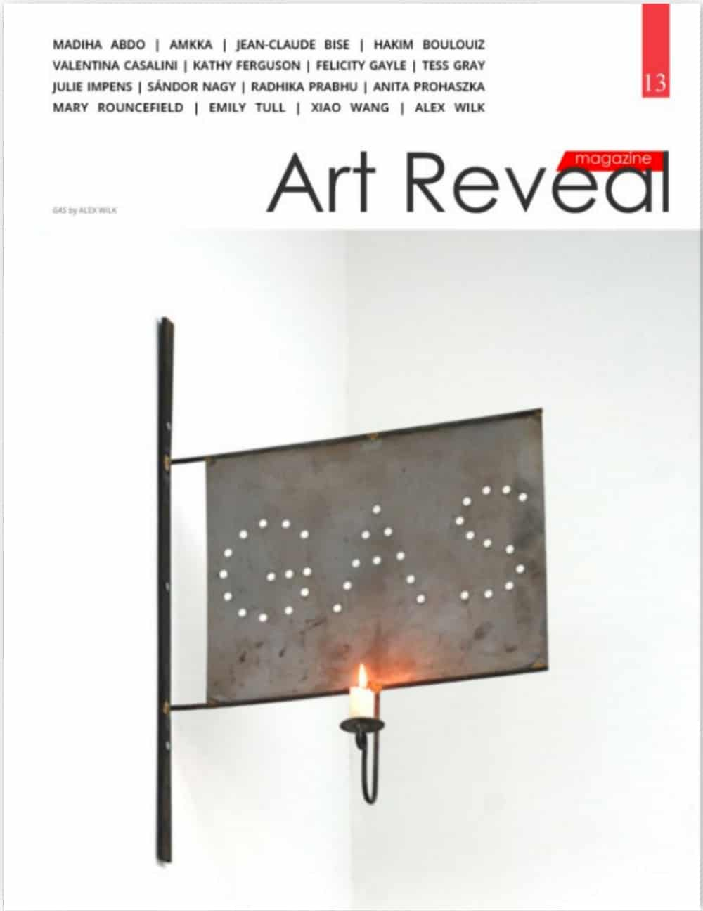 Art Reveal Issue 13 cover