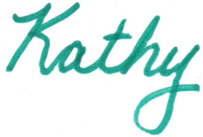 Kathy signature webpage