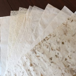Beautiful, delicate rice papers