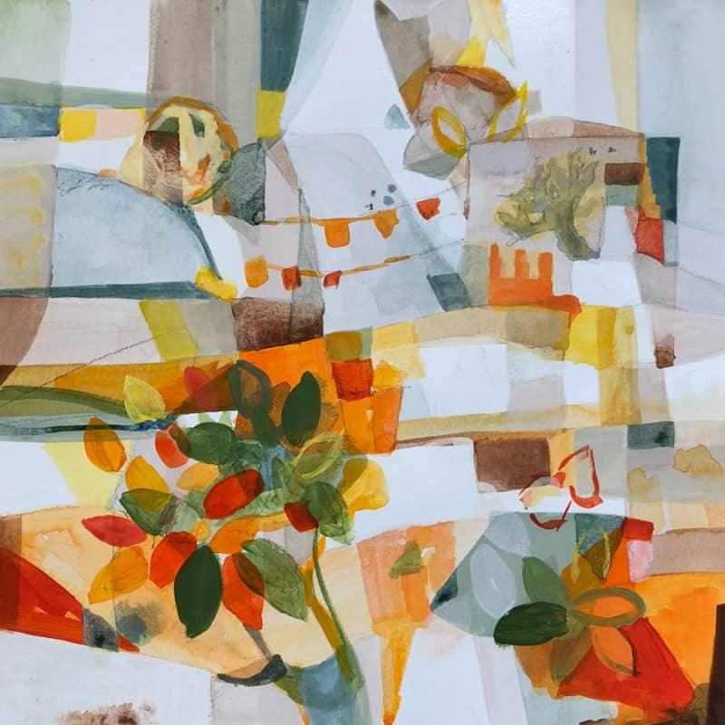 Tuscany Citrus painting