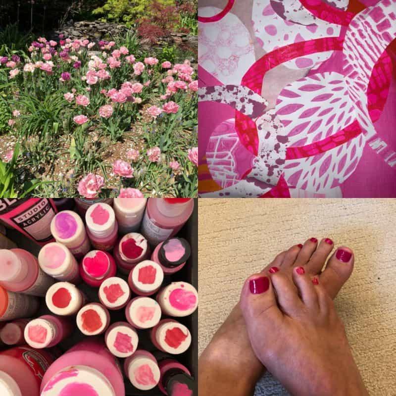 Ingrid Sungberg's pink palette