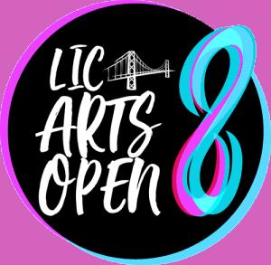 LICArts Open 8 logo