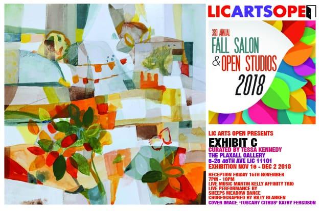 LIC Arts Open poster
