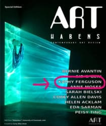 Art Haben magazine cover