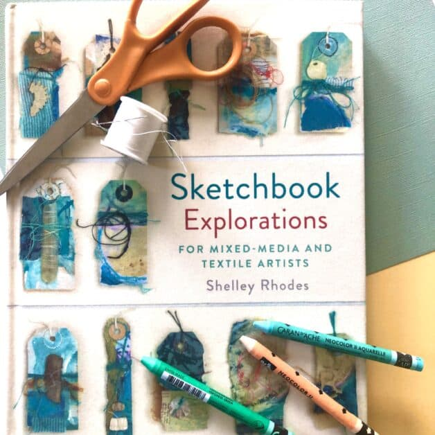 Sketchbook Explorations book cover by Shelley Rhodes
